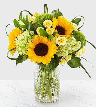 FTD Sunlit Days™ Sunflower Bouquet