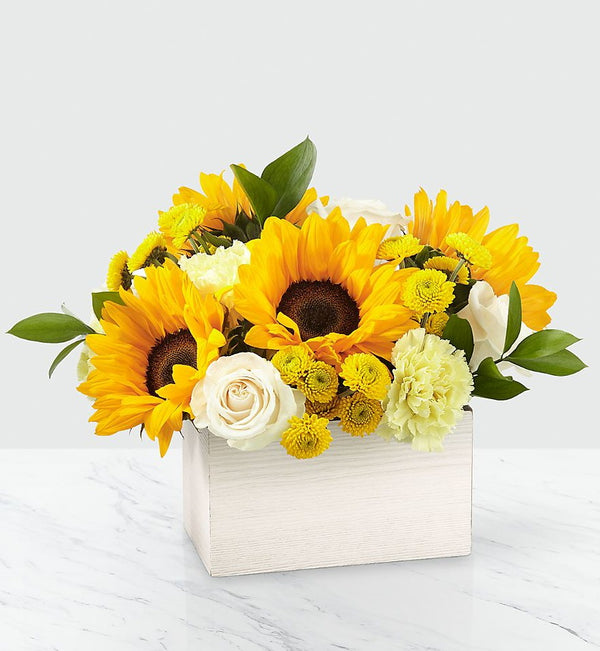 FTD Sweet as Lemonade Sunflower Bouquet