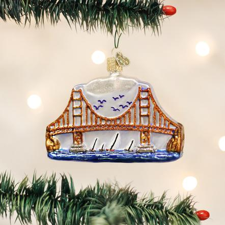 Ornament: Golden Gate Bridge