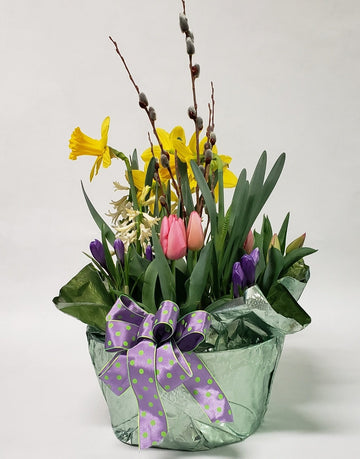Blooming Bulb Garden Basket