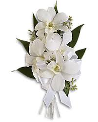 Teleflora Graceful Orchids Corsage