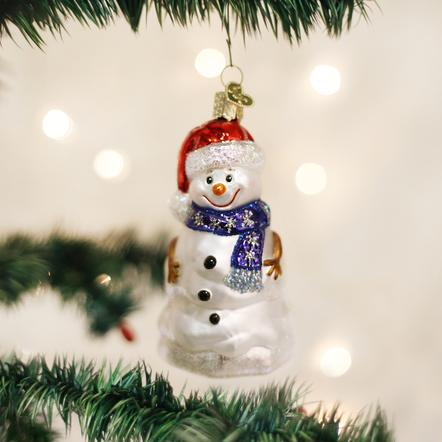 Ornament: Happy Snowman