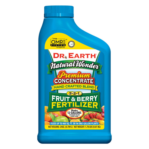 Dr Earth Organic Fruit & Berry Fertilizer 3-2-1 Concentrate