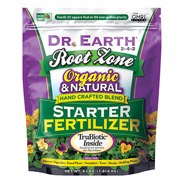 Dr Earth Organic Root Zone Starter Fertilizer