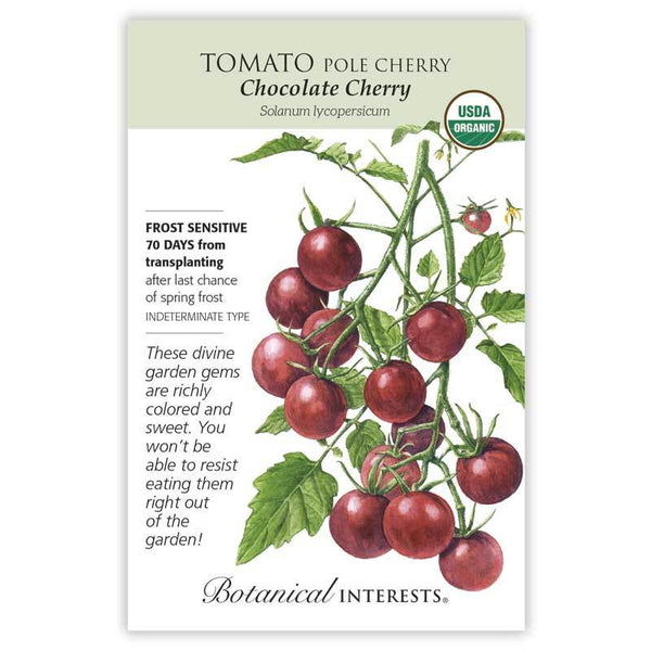 Tomato Pole 'Chocolate Cherry'