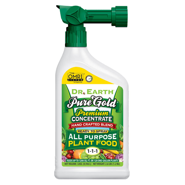 Dr Earth Pure Gold All Purpose Fertilizer Spray