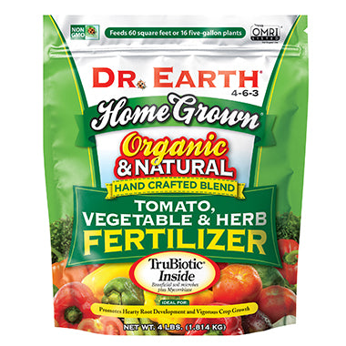 Dr Earth Organic Tomato, Vegetable & Herb Fertilizer