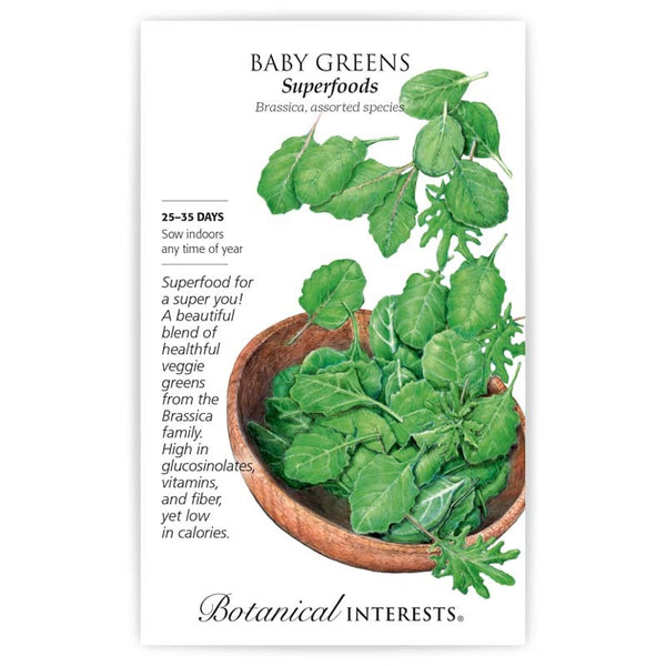 Baby Greens 'Superfoods'
