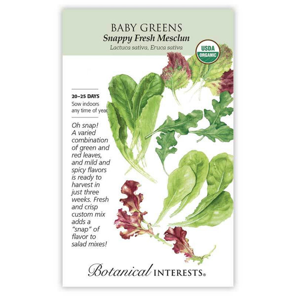 Baby Greens 'Snappy Fresh Mesclun'