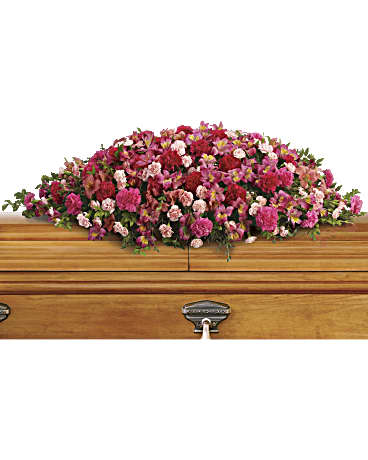 Teleflora A Life Loved Casket Spray