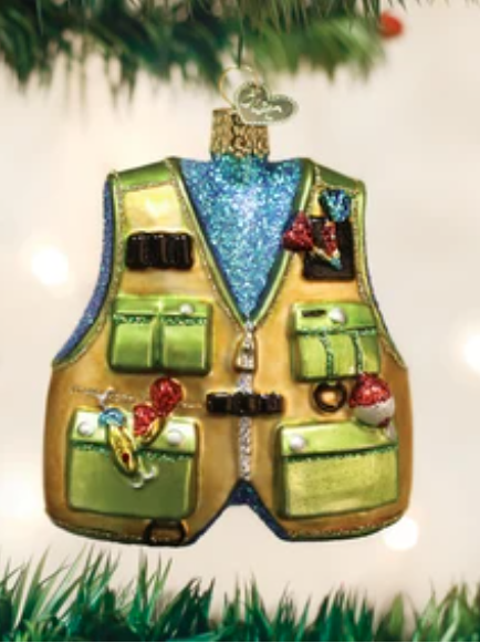 Ornament: Fishing Vest