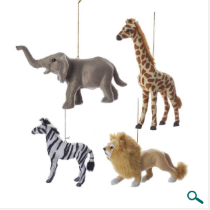 Ornaments: Safari Style