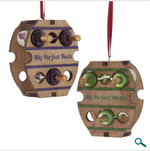 Ornament: Wooden Wine Rack