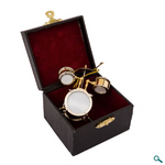 Ornament: Brass Drum Set