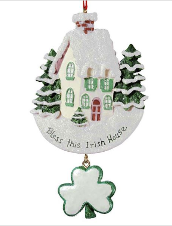 Ornament: Bless this Irish House