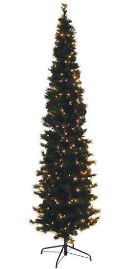 5' Pre-Lit Artificial Tree: Boden Spruce, Clear Lights