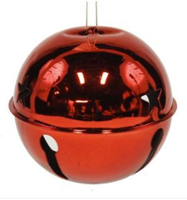 Ornament: Red Jingle Bell