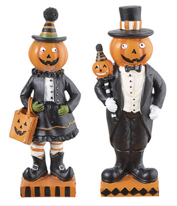 Pumpkin People: 3.5 x 8.75in