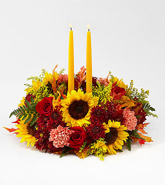 FTD Giving Thanks Candle Centerpiece