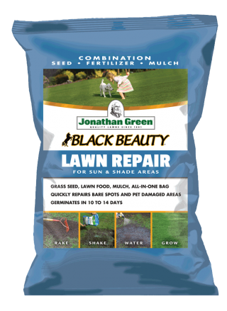 Black Beauty Lawn Repair for Sun & Shade