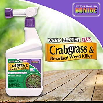 Bonide Weed Beater Plus Crabgrass Weed Killer RTS