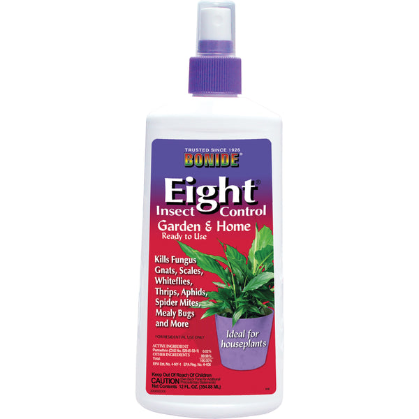 Bonide Eight Insect Spray Houseplant 12oz