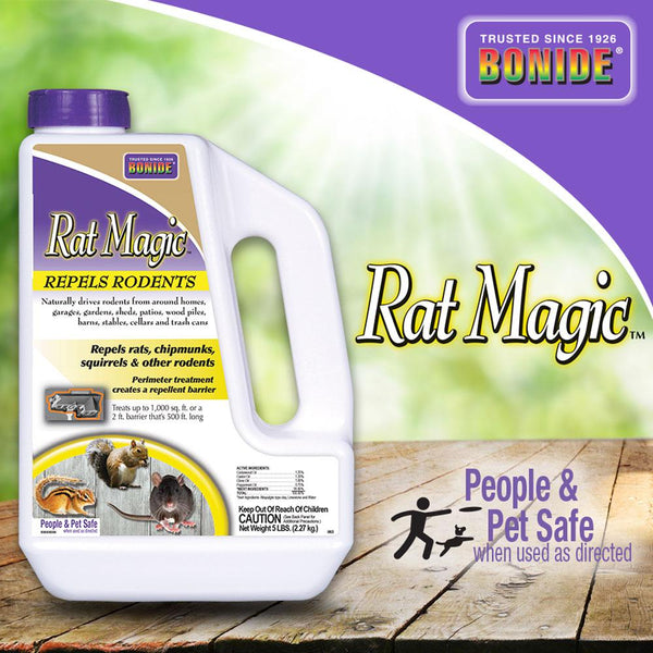 Bonide Rat Magic Rodent Repellent Granules 5#