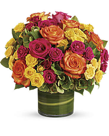 Teleflora Blossoms in Vogue