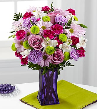 FTD® Purple Pop Bouquet