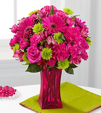 FTD Raspberry Sensation Bouquet