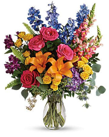 Teleflora Colors of the Rainbow Bouquet