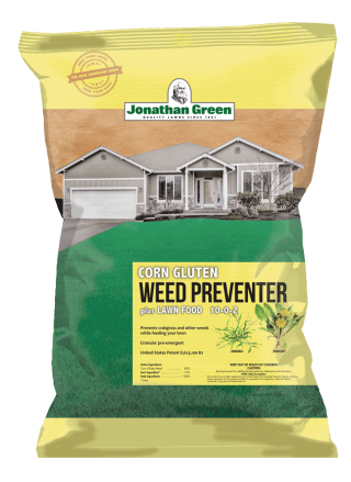 Corn Gluten Weed Preventer plus Lawn Food