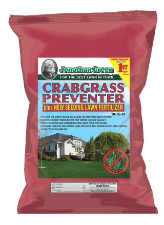 Crabgrass Preventer plus New Seeding Lawn Fertilizer