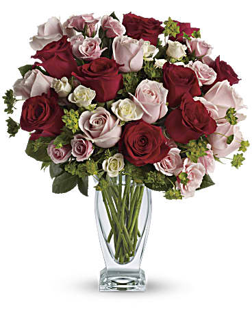 Teleflora Cupid's Creation with Red Roses