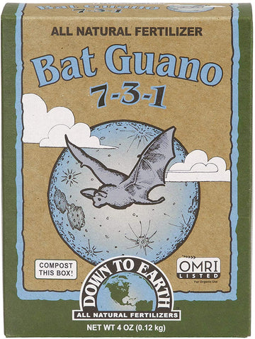 Down To Earth Bat Guano 7-3-1