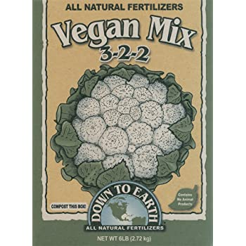Down To Earth Vegan Mix 3-2-2