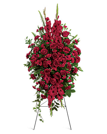 Teleflora Deep In Our Hearts Spray