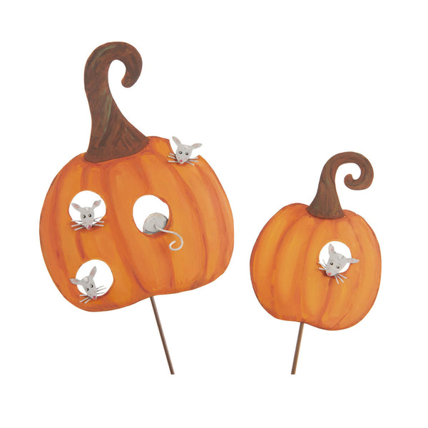 Picks: Orange Pumpkins with Mice