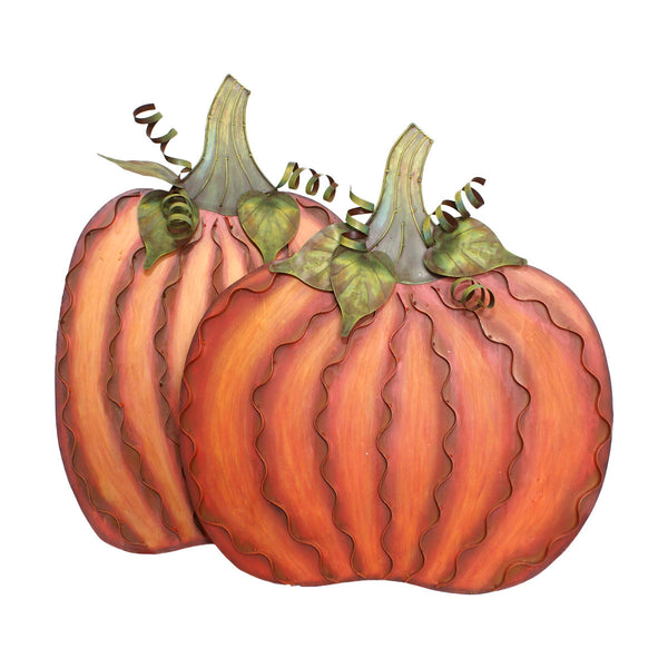 Large Classic Orange Pumpkins Decor