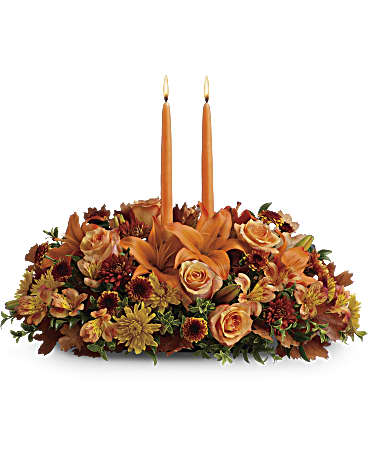 Teleflora's Family Gathering Centerpiece