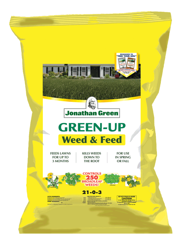 Weed & Feed Lawn Fertilizer
