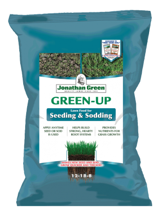 Green-Up Fertilizer for Seeding & Sodding