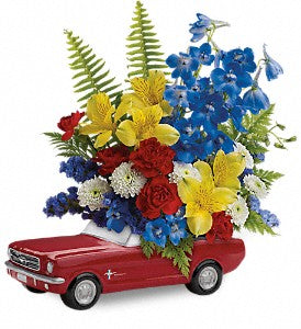 Teleflora '65 Ford Mustang Bouquet