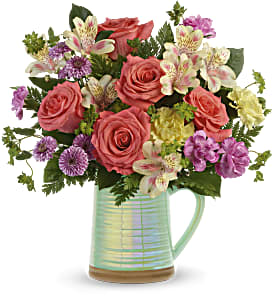Teleflora's Pour on the Beauty Bouquet