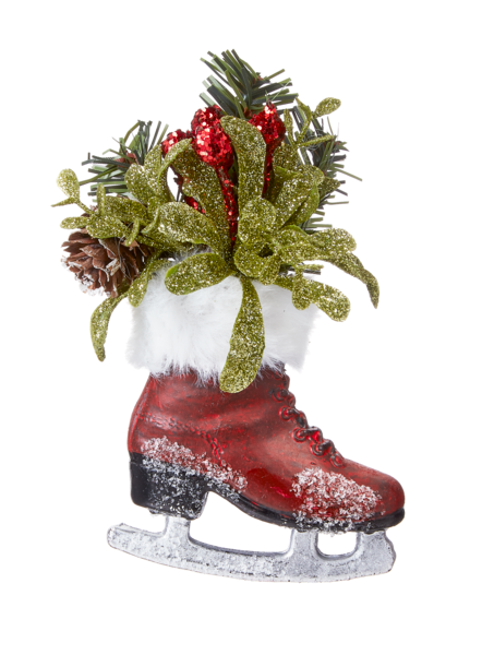Ornament: Mistletoe Mini Skate