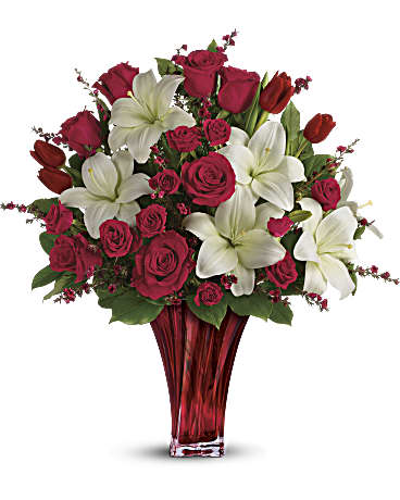 Teleflora Love's Passion Bouquet