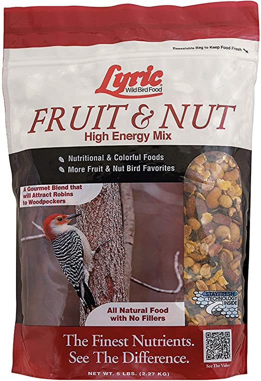 Lyric Fruit & Nut Wild Bird Food