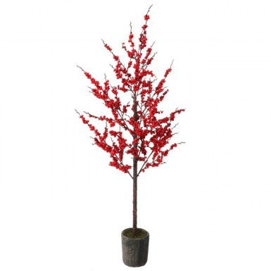 Tree: Red Berry Waterproof