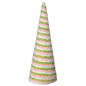"Tree: 17"" Pick/Green Frosting"