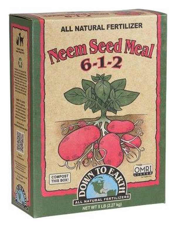 Down To Earth's Neem Seed Meal 6-1-2